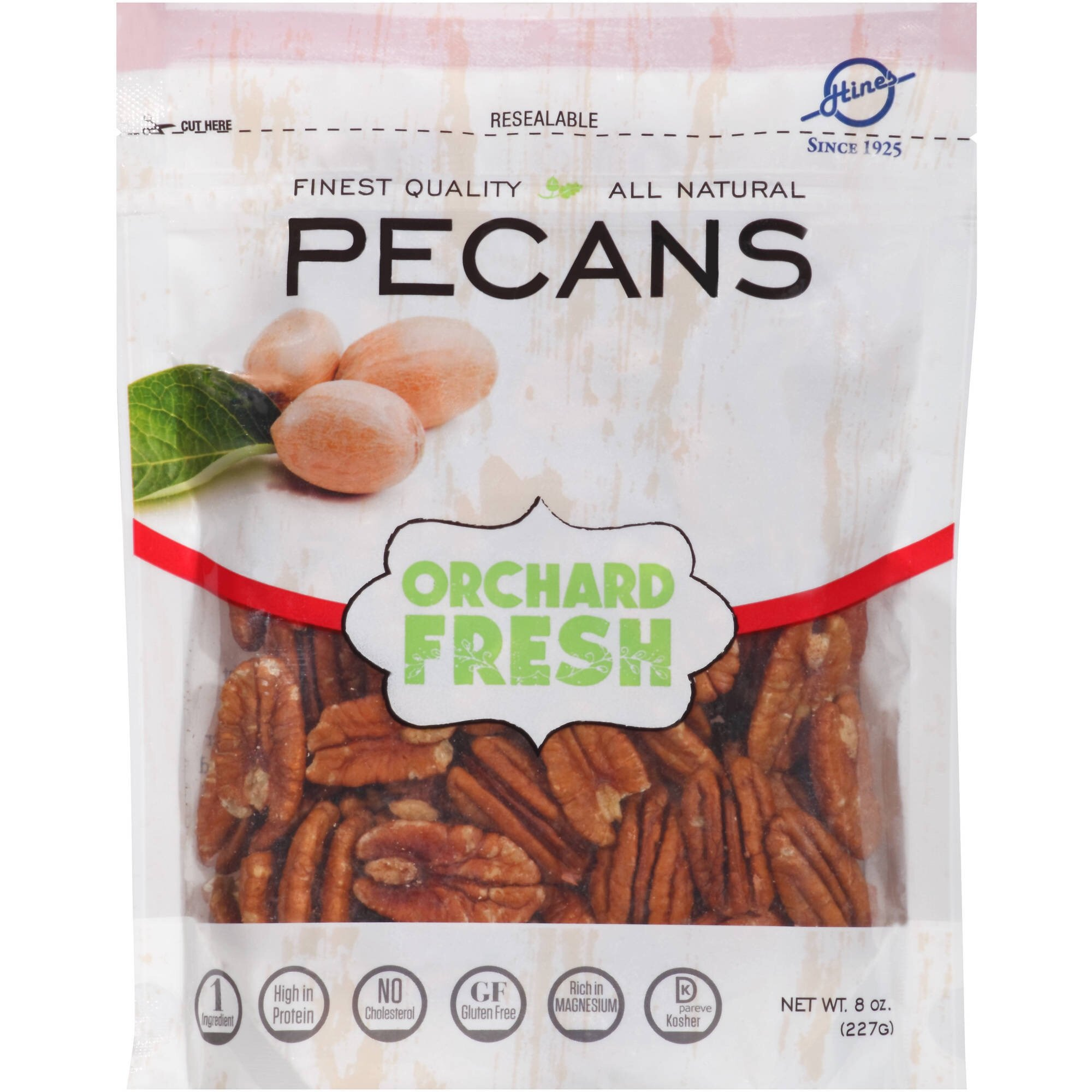 Orchard Fresh Pecans 8 oz (Pack of 1)