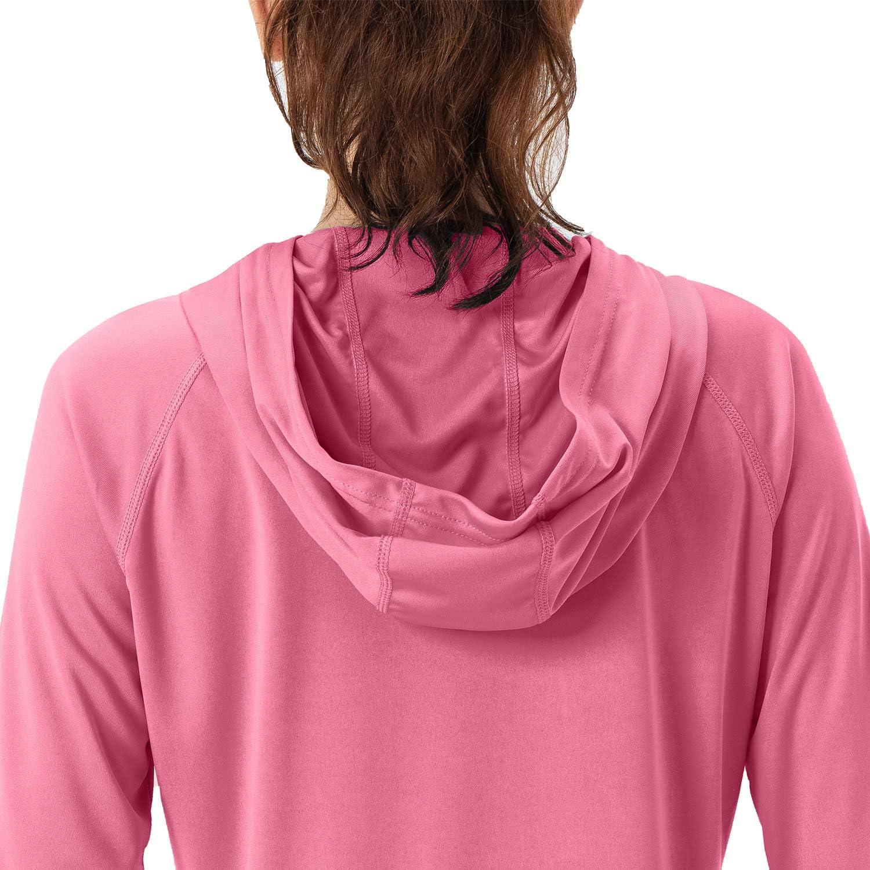 UV Sun Protection Hoodie Long Sleeve Hiking Shirt Outdoor Performance Running Fishing Hoodie Womens UPF 50