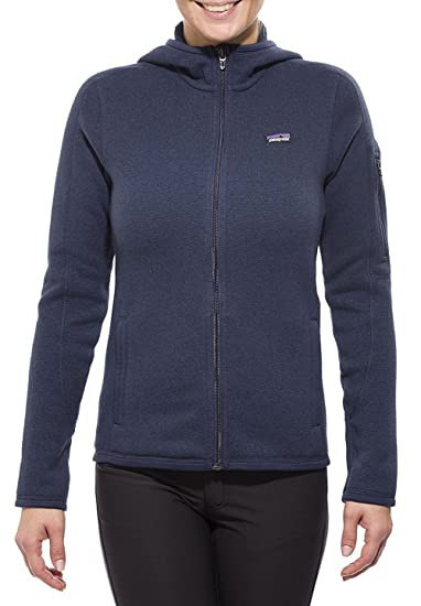 Amazoncom Patagonia Womens Better Sweater Fleece Full Zip Hood