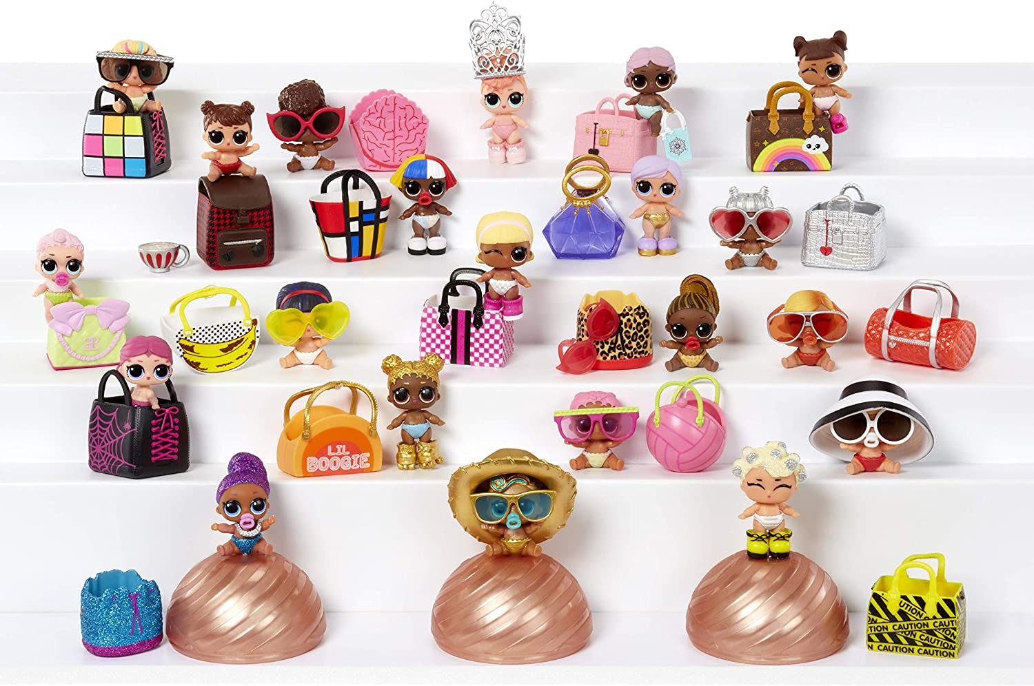 Lil Sisters Series 4 EYE SPY LIL Boogie Babe Lil Sis Girl Gift Toy