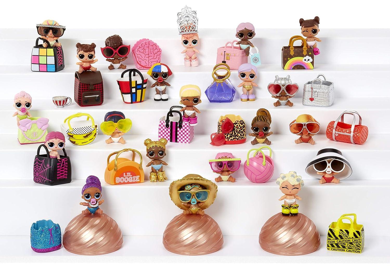 0a86b128d Amazon.com  L.O.L. Surprise! Eye Spy Lil Sisters Doll Series 4-1(3 ...