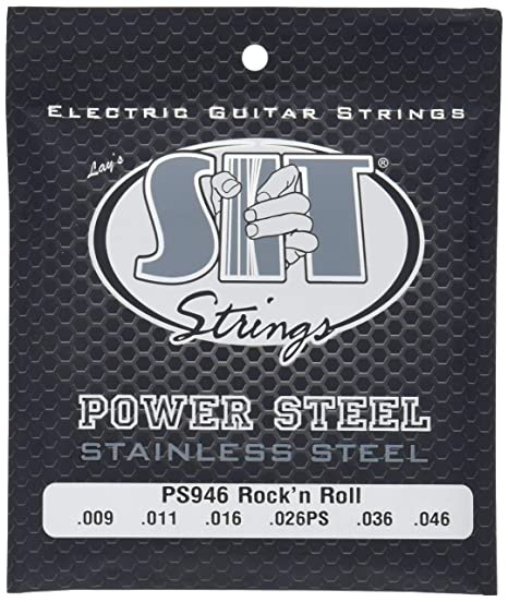 SIT PS946 - Juego de cuerdas para guitarra eléctrica de acero inoxidable