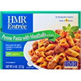HMR Penne Pasta with Meatballs in Sauce Entree, 8 oz. servings, 6 count, (Packaging Design May Vary)