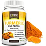 Turmeric Curcumin with BioPerine – 1200 mg Organics Capsules with 95% Standardized Curcuminoids – Works on Pain Relief & Joint Support - Non-GMO & Gluten-Free – Made in USA