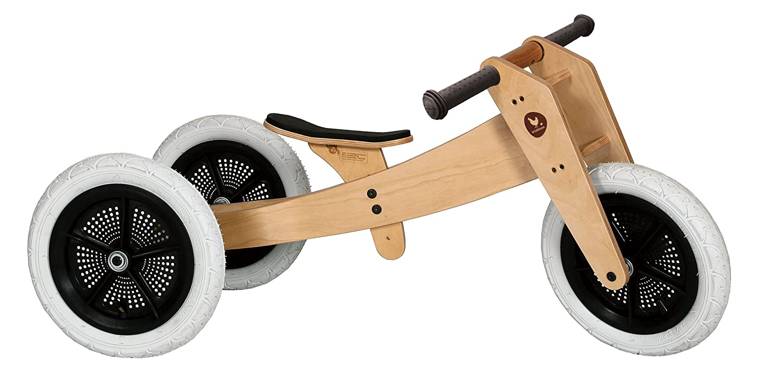 Wishbone Bike 3in1 Original, Quality Convertible Balance Bike, Ages 12 months to 5 years Wishbone Design Studio WIB-BIKE-CLA