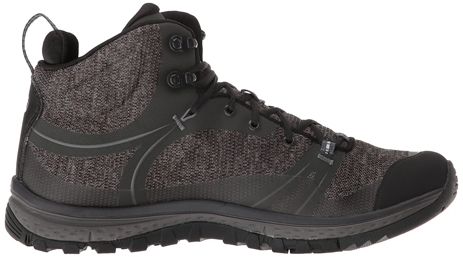 KEEN Women's Terradora Mid Waterproof Hiking Shoe B077K8C189 9.5 M US|Raven/Gargoyle