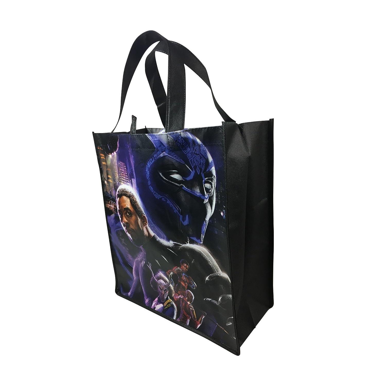Marvel Black Panther Large Reusable Tote Bag B07G2GV2GS
