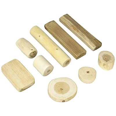Tree Blocks 36 Piece Barkless Set in a Bag Building & Construction for Ages 3 to 6: Toys & Games [5Bkhe0804115]