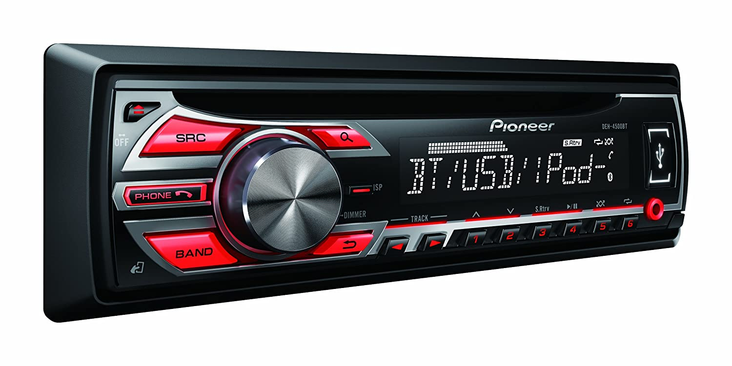 Pioneer deh 4500bt car cd player instructions.
