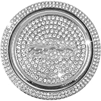 Pookknop Cover Decoratie Trim Sticker Paneel Frame Cover Trim Crystal Bling Strass Interieur Decal Compatibel met Jaguar…
