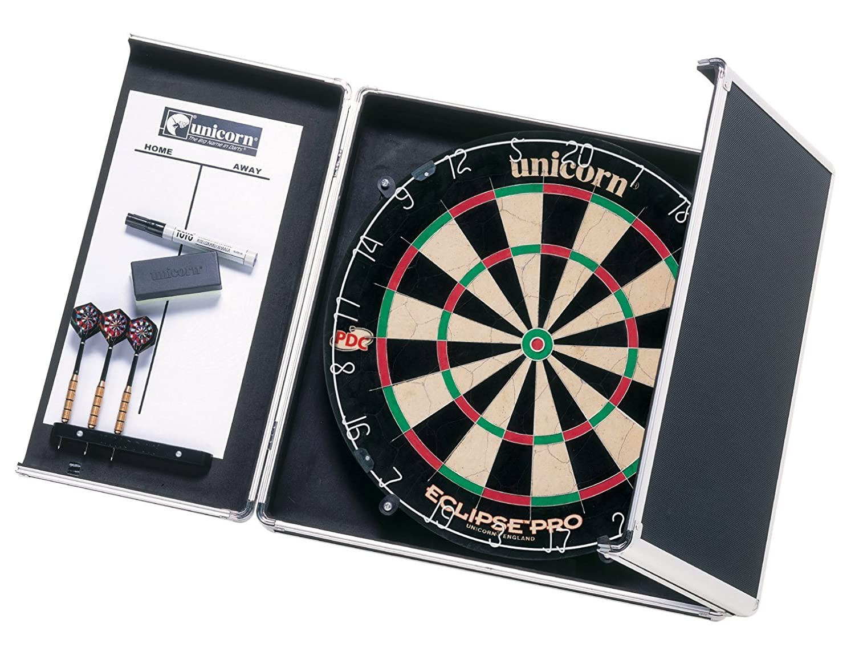 Teknik Cabinet- Gabinete para diana, Aluminio / Negro Dartboard Cabinet 46020