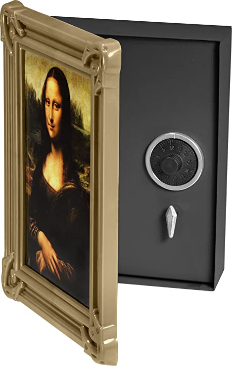 Winbest Wall Mount Safe Picture Frame Hidden Safe Lock Box With