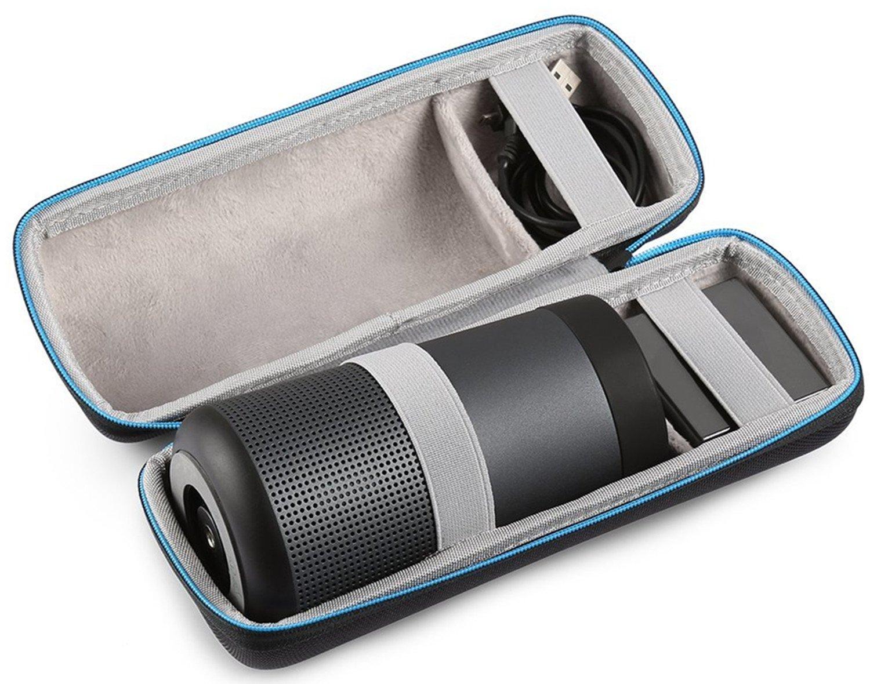 daorier dure sac de transport voyage Case Coque Housses pour Bose SoundLink Revolve Haut-parleur Bluetooth