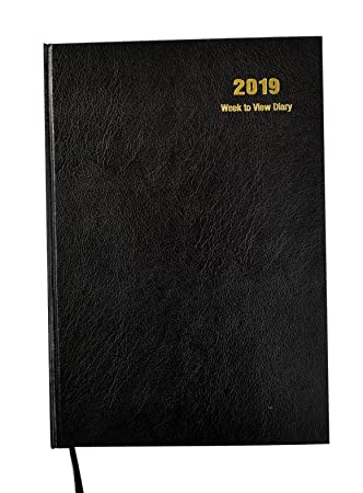 Arpan 2019 Diary A4 Week To View Hardback Cover