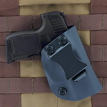 R&R Holsters: IWB Kydex Holster for SIG P365 - Inside The Waistband -  Adjustable Cant & Retention