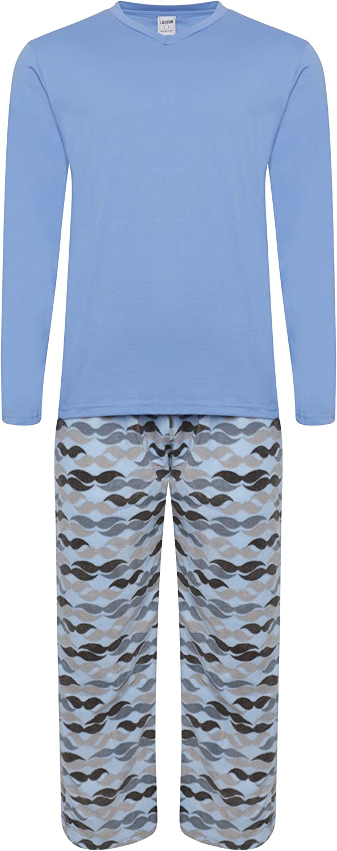 Pijama para hombre forro abrigado