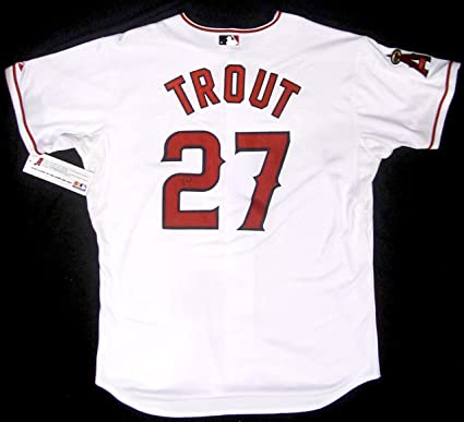 timeless design ecdce cf975 MIKE TROUT AUTOGRAPHED Hand SIGNED Authentic Anaheim ANGELS ...