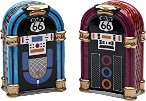 StealStreet SS-CG-61826, 2.88 Inch Blue and Purple Jukebox Set Salt and Pepper Shakers