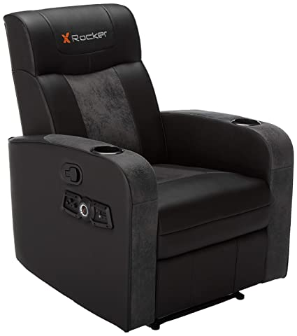 Terrific X Rocker Premier 2 1 Wireless Bluetooth Stereo Sound Recliner Dual Audio Foldable Gaming Chair And Home Theater Seating W Cupholders Vibrating Ibusinesslaw Wood Chair Design Ideas Ibusinesslaworg