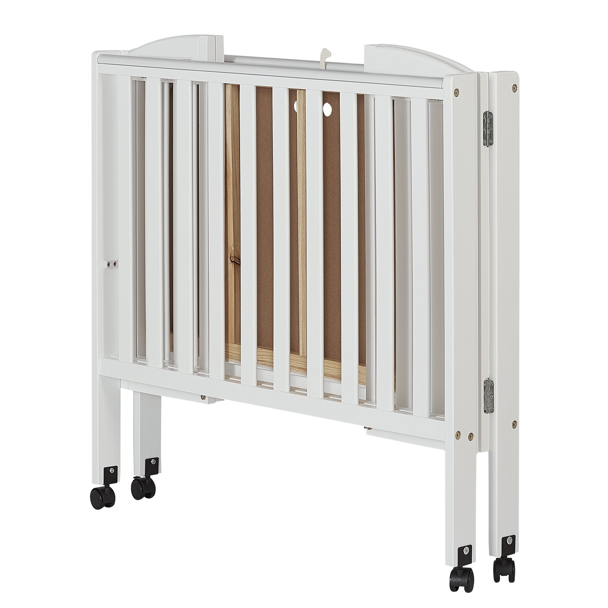 Dream On Me 2 In 1 Portable Folding Stationary Side Crib, White   682 W U003c  Home U0026 Kitchen Features U003c Home U0026 Kitchen   TIBS