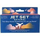 JET SET NATURAL, Jet Lag Relief & Prevention Pills | Sleep Specialist Created | Travel Immune Support | Jet to Relax…