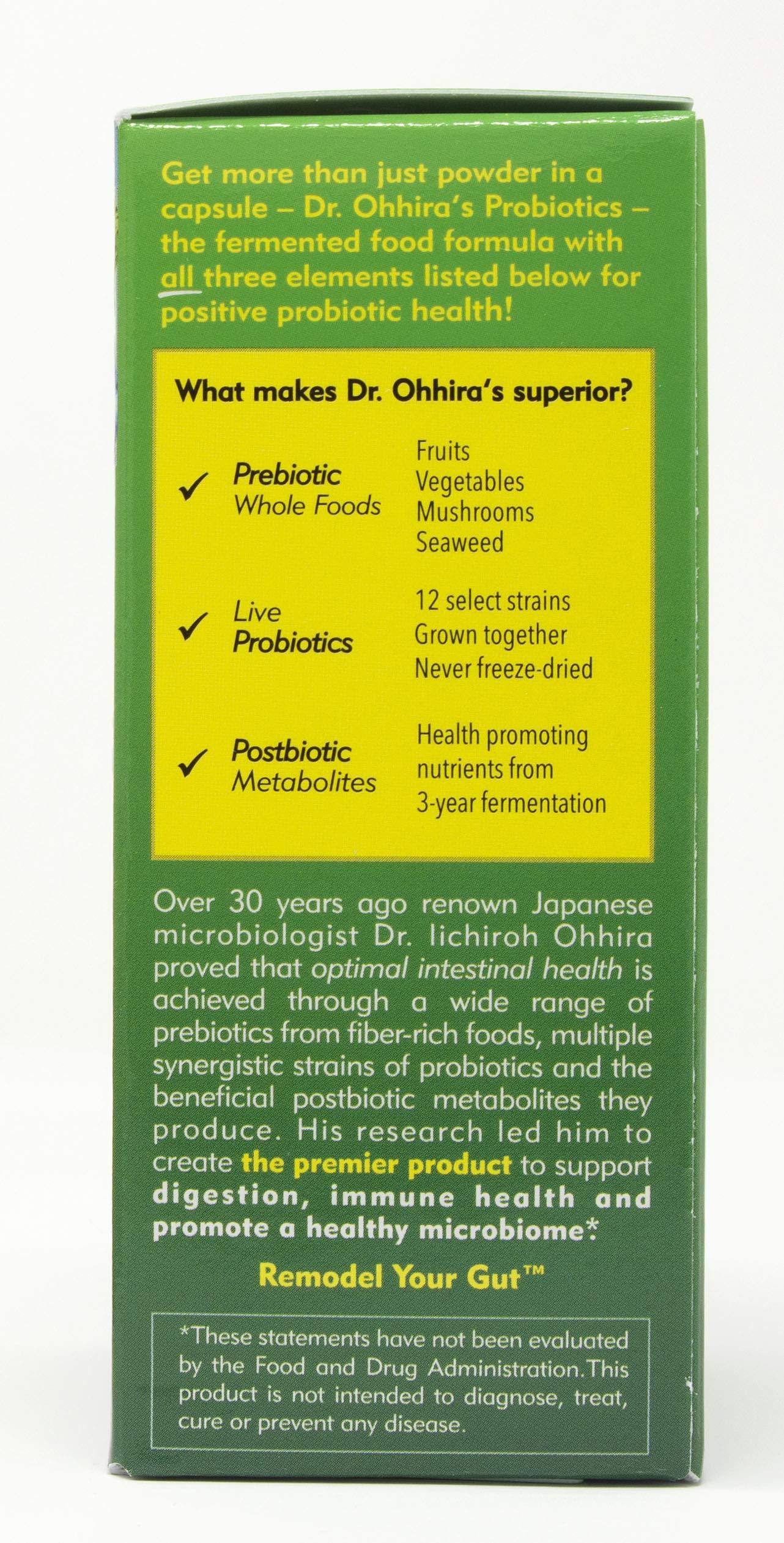 Dr. Ohhira's Probiotics, Original Formula, 60 Caps with Bonus 10 Capsule Travel Pack by Essential Formulas (Image #5)