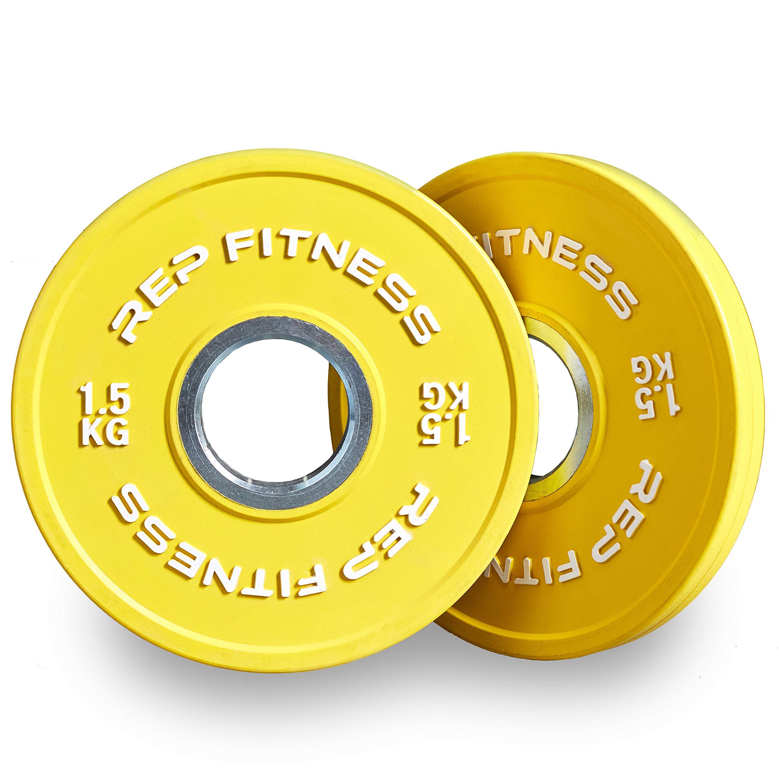 Rep Change Plates - 1.5 kg
