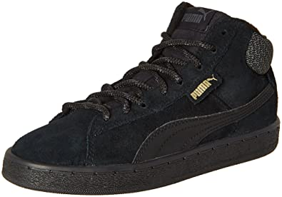 free shipping prices best store to get online Puma 1948 Mid Twill Black Sneakers fzM3uH