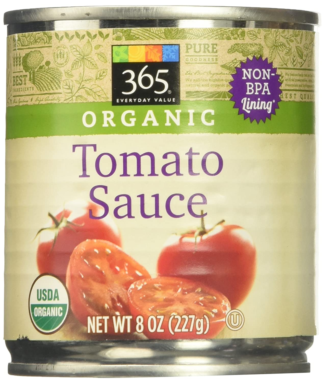 365 Everyday Value, Organic Tomato Sauce, 8 oz