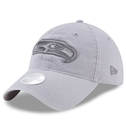 Image Unavailable. Image not available for. Color  Seattle Seahawks New Era  Women s Team Glisten 9TWENTY Adjustable Hat Gray 98a2eefa0