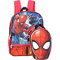 Marvel Spiderman Backpack With Shaped Lunch Kit Backpack