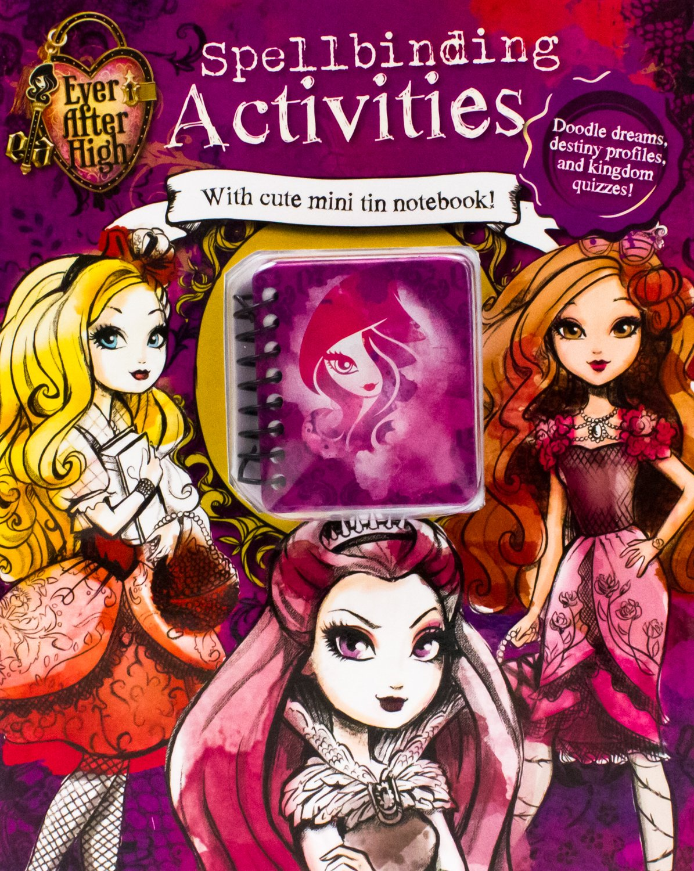 Read Online Ever After High Fairy Tale Activities (Spellbinding Activities) PDF