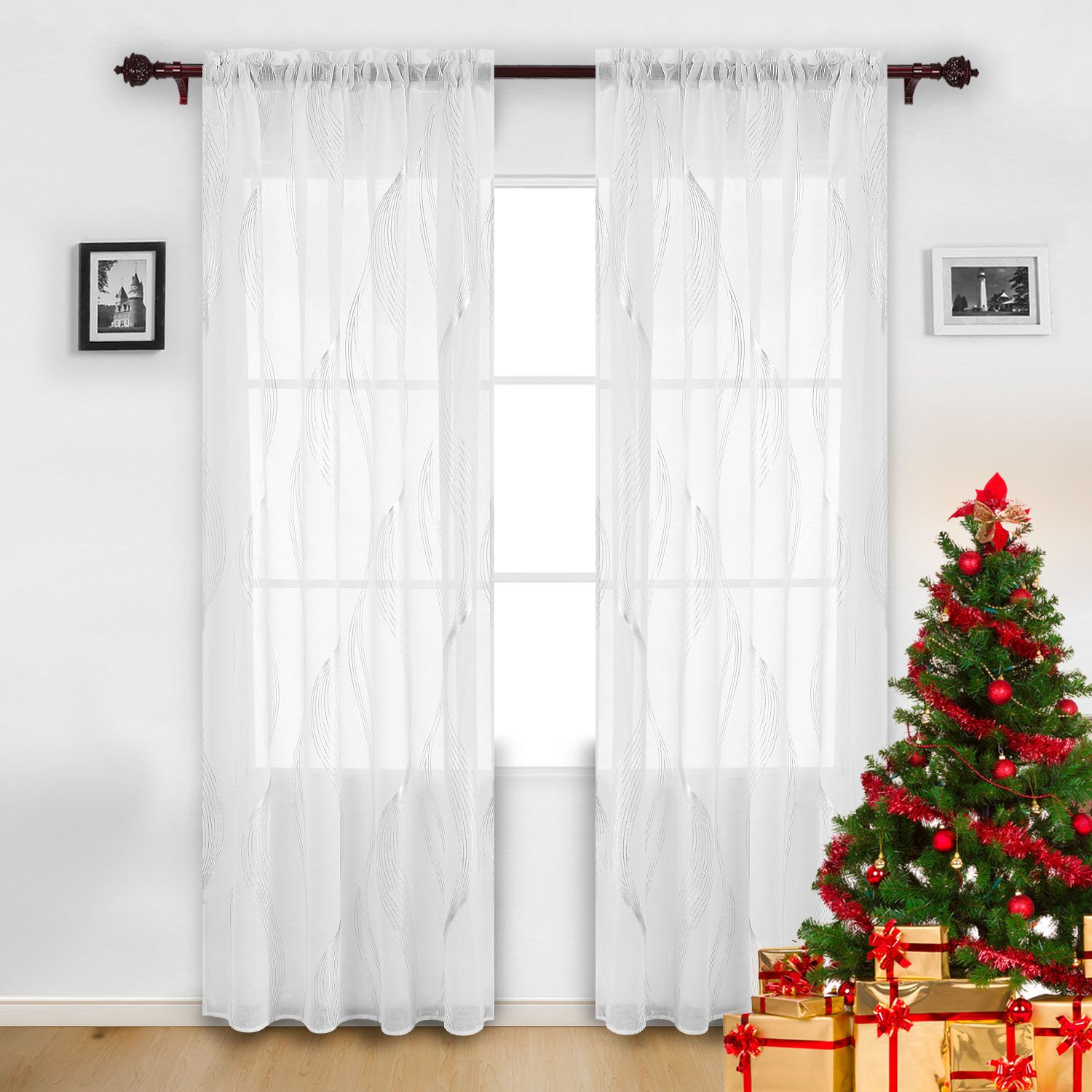 black drapes price amazon blackout striped boch awning half white curtain dp kitchen home stripe curtains com