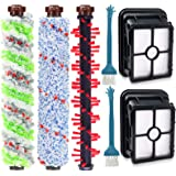 DEKIRU Compatible with Bissell Crosswave 1 Pack 2306 Multi-Surface Pet Brush Roll + 1 Pack 1934 Area Rug Brush Roll + 1…