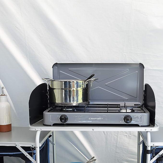 Campart GA-8402 Cocina de Camping a Gas Alberta – Seguridad ...