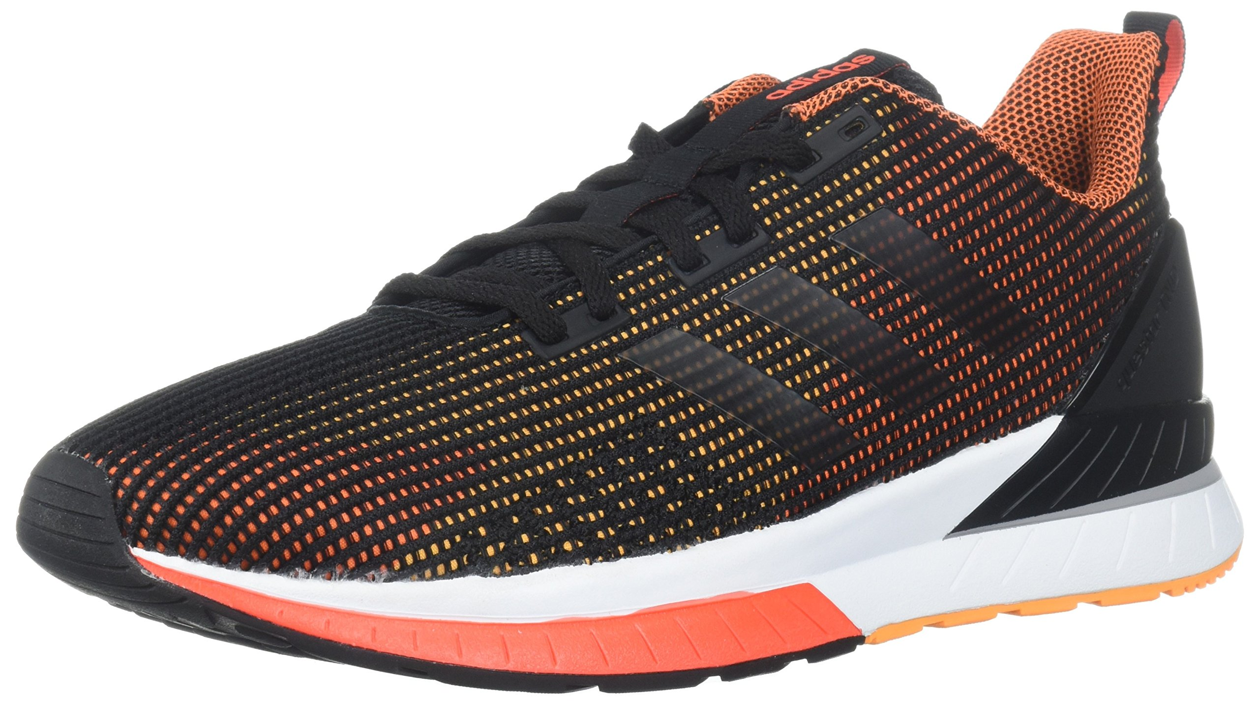adidas Performance Men's Questar Tnd, Core Black/Core Black/Hi-Res Orange, 11 Medium US by adidas