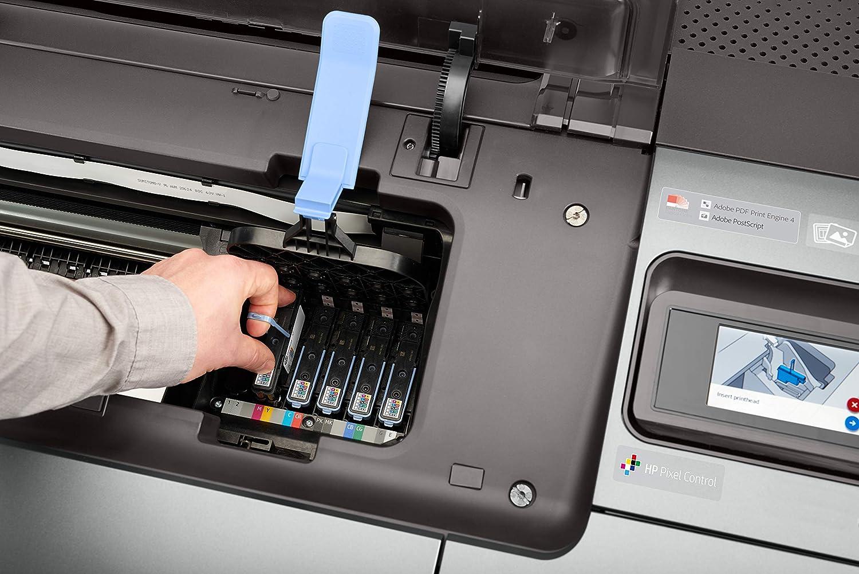 HP Designjet Z9 - Impresora de Gran Formato (2400 x 1200 dpi, Inyección de Tinta térmica, HP-GL/2,HP-RTL,PDF 1.7,Postscript 3, 6.9 m²/h, 3.7 m²/h, 610 x 1676 mm): Hp: Amazon.es: Informática