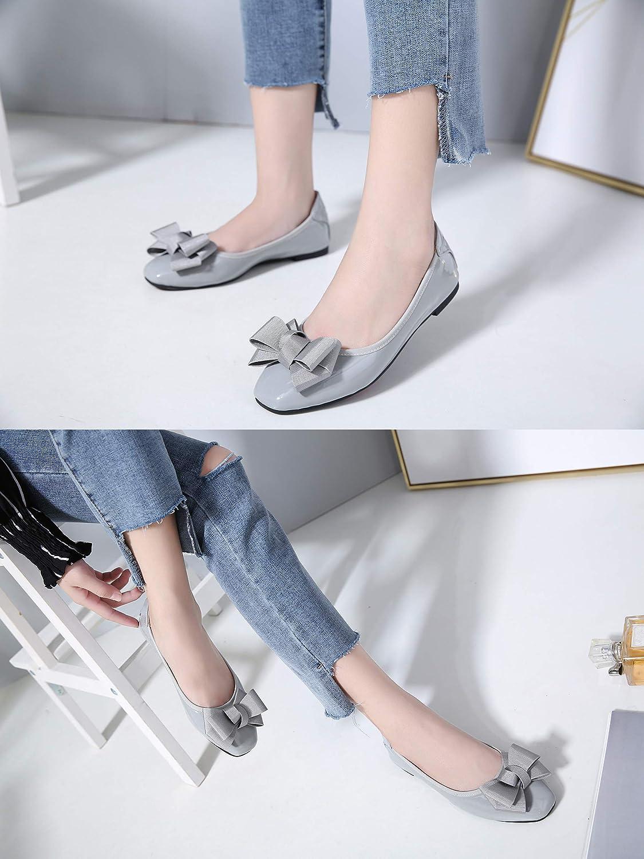 36 EU = 230 mm//9,Beige Ballerines Femme Morbuy Casual Ballerines Chaussures de Flats Plate Confort Conduite Chaussures Grandes Pointures du 36 au 42 Style Arc