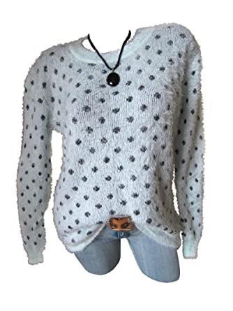 Flauschig weiches Pullover-Kleid Long Pullover Pulli