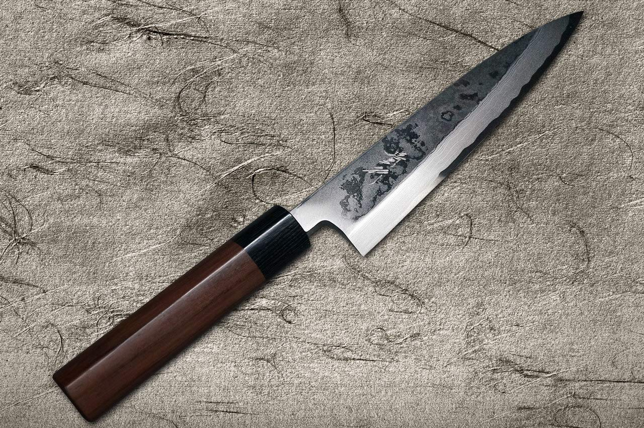 TAKAYUKI IWAI SHIROGAMI STEEL NO.1 FUMON SERIES FUNAYUKI JAPANESE CHEF KNIFE