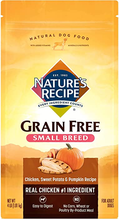 The Best Small Breed Grain Free Dog Food 4Lb Bag