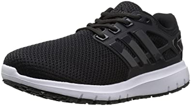 Adidas Men's Energy Cloud Running Imported Synthetic Sole Shoe Black 9.5 D(M) US