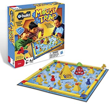 u build mouse trap cheese chase game amazon co uk toys games