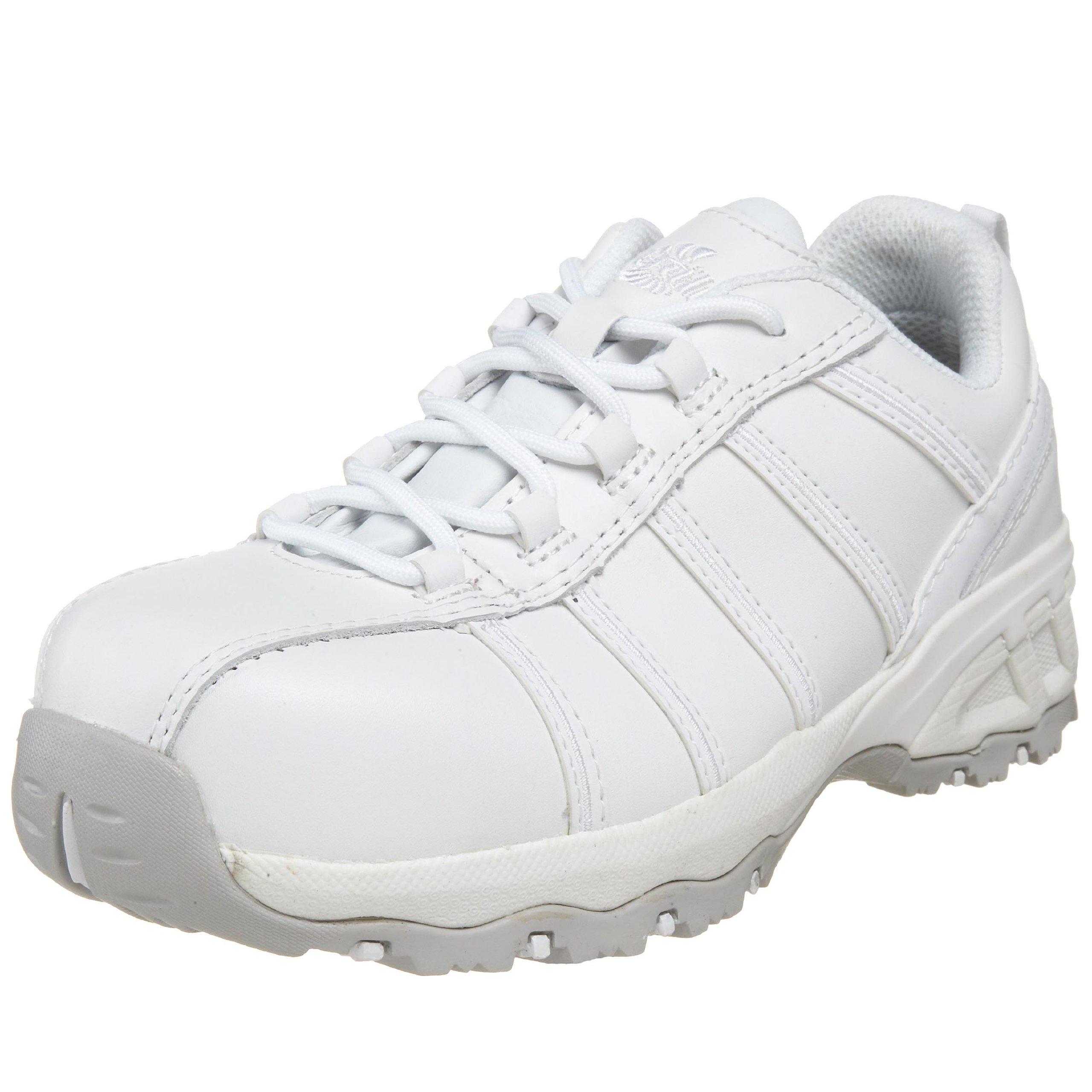 Nautilus 1756 Women's Comp Toe No Exposed Metal EH Athletic Shoe ,White,8.5 W US