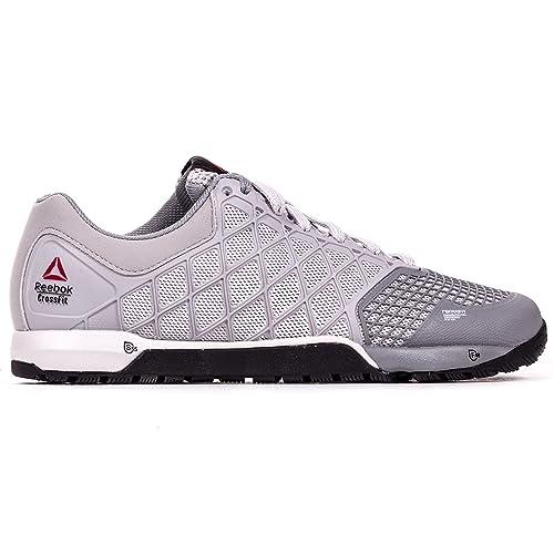 Reebok Crossfit Nano 4.0 - Zapatillas de entrenamiento de gimnasio para mujer, color gris, color gris, talla 35: Amazon.es: Zapatos y complementos