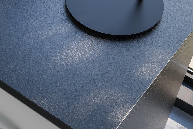 Artesive TEC-022 Pelle Nera larg Pellicola Adesiva cuoio 30 cm x 10 mt