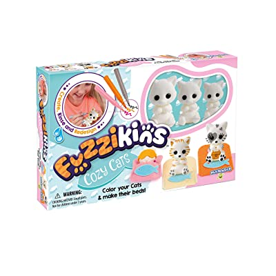 Fuzzikins Cozy Cats Craft Playset: Toys & Games