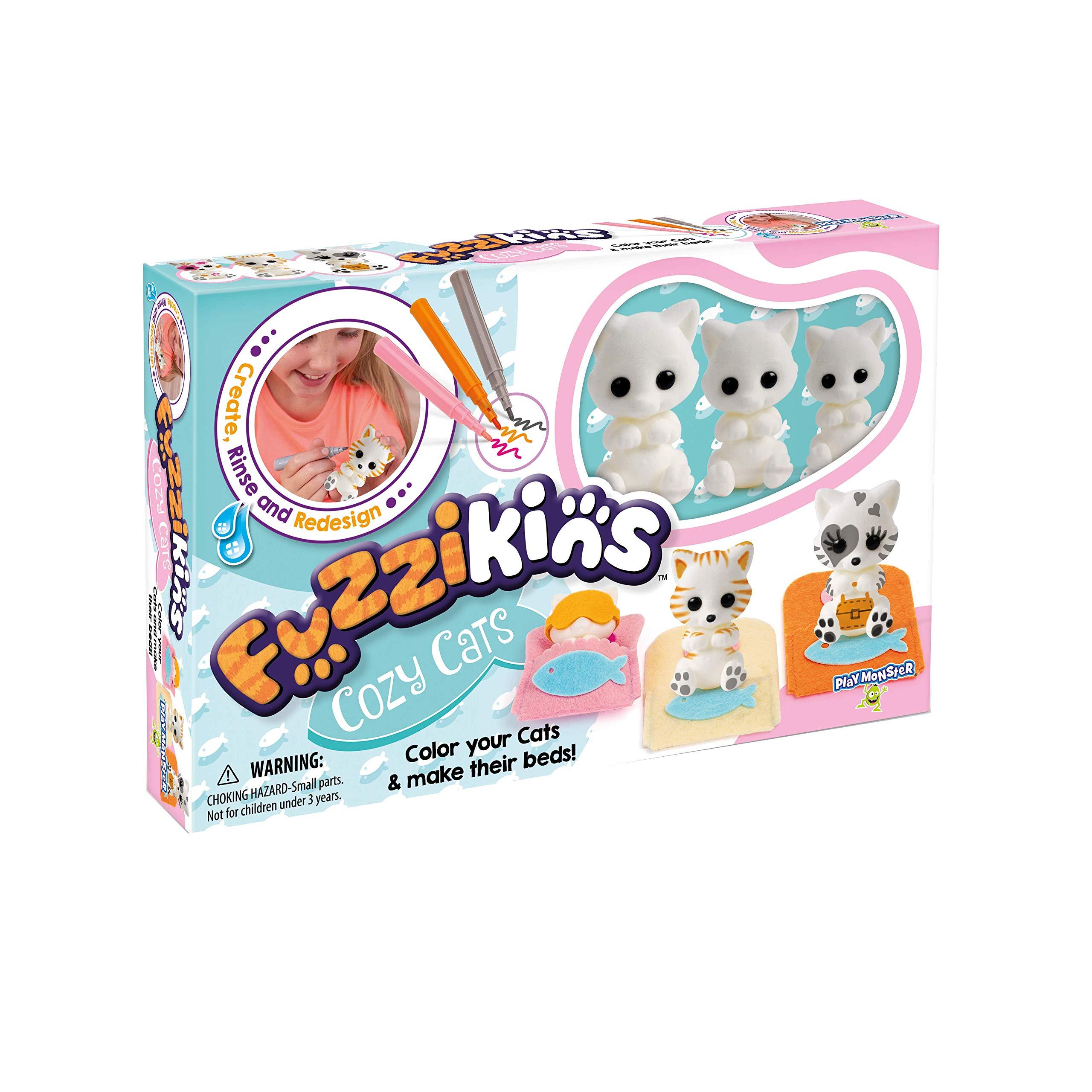 Fuzzikins Cozy Cats Craft Playset