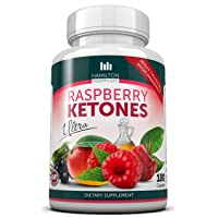 Raspberry Ketones Ultra - 180 Capsules - Pure Fresh Natural Burn Formula with Zero...