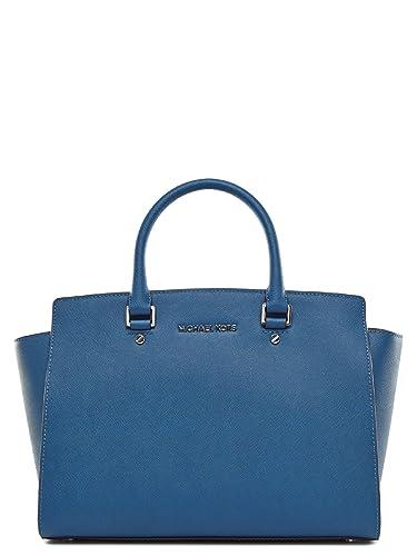 Michael Kors Tasche Selma Large marineblau